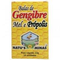 Balas de Gengibre Natu's Minas