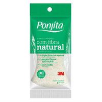 Esponja de Banho Ponjita Fibra Natural