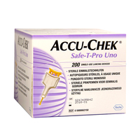 Lancetas Safe-T-Pro Uno Accu-Chek