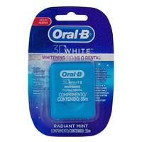 Fio Dental Oral-B 3D White Whitening