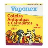 Vaponex Coleira Antipulgas e Carrapatos