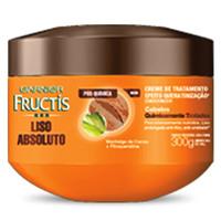 Creme de Tratamento Fructis Liso Absoluto Pós Química