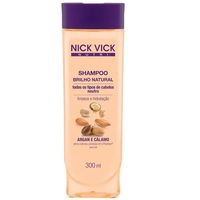 Shampoo Nick Vick Nutri Brilho Natural