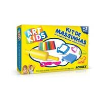 Kit Massa de Modelar Art Kids