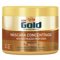 Máscara Concentrada Niely Gold Reconstrução Profunda