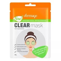Máscara Facial Antioleosidade Dermage Clear Mask