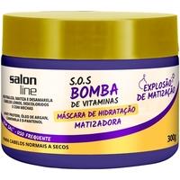 Máscara Matizador Salon Line SOS Bomba