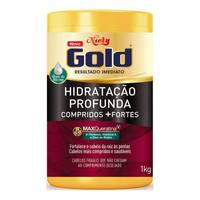 Máscara de Hidratação Profunda Niely Gold Compridos + Fortes