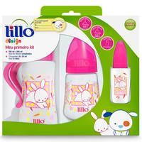 Kit de Mamadeiras Lillo Design Meu Primeiro Kit