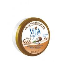 Cera Finalizadora Vita Capili Óleo de Coco