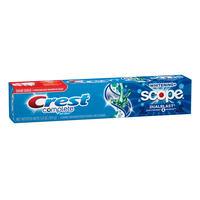 Creme Dental Crest Complete Whitening Plus Scope Dual Blast