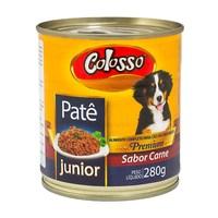 Patê para Cães Colosso Premium Junior Sabor Carne