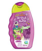 Shampoo Infantil 2 em 1 Acqua Kids Uva e Aloe Vera