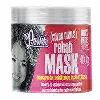 Máscara de Reabilitação Soul Power Color Curls Rehab Mask