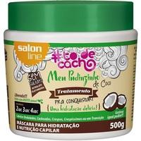 Máscara de Tratamento Meu Pudinzinho de Coco Salon Line