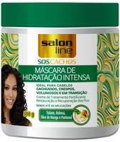 Máscara de Hidratação Intensa Salon Line S.O.S Cachos