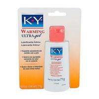 Lubrificante Íntimo K-Y Warming Ultra Gel