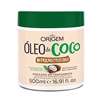 Máscara de Tratamento Origem Óleo de Coco Nutrição Profunda