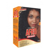 Kit Creme Relaxante Analéa Permanente Afro