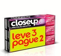 Creme Dental Closeup Proteção Bioativa Bloqueio Anticáries