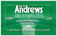 Sal de Andrews 2 envelopes com 5g de pó efervescente de uso oral