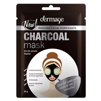 Máscara Facial Purificante Dermage Charcoal Mask