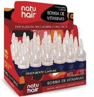 Ampola de Tratamento NatuHair S.0.S Bomba de Vitaminas