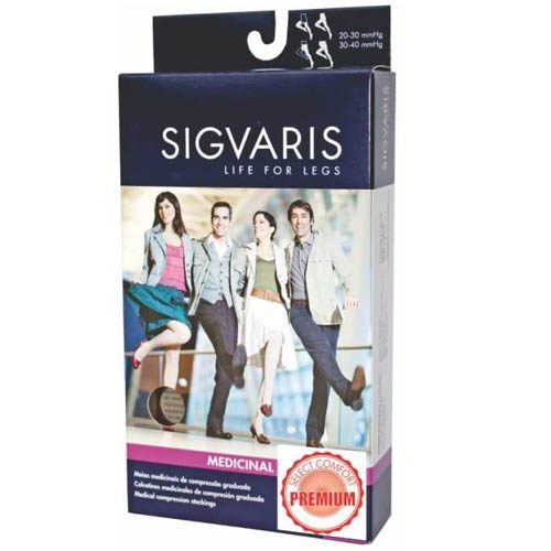 aae1b269a Compre Meia 3 4 Sigvaris Select Comfort Premium 30-40 mmHg G Normal (G2)