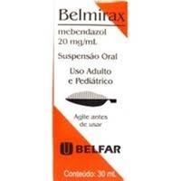 Belmirax 20mg/mL, caixa com 1 frasco com 30mL de suspensão de uso oral