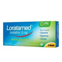 Loratamed 10mg, caixa com 12 comprimidos