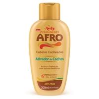 Ativador De Cachos Permanente Afro Reduz O Volume