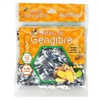 Balas de Gengibre Assiflora mel, própolis e limão com 38g