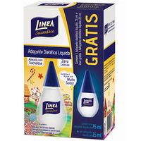 Adoçante Linea Sucralose líquido com 75mL + 25mL, grátis