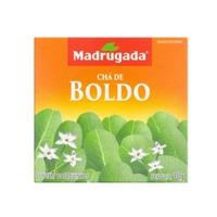 Chá Madrugada boldo, 6 caixas de 10 sachês cada