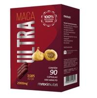 Maca Ultra Maxinutri 2000mg, caixa com 90 cápsulas