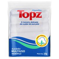 Algodão Topz zig-zag, multiuso com 25g