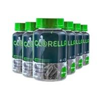 Clorella Eleve 530mg, 6 frascos com 60 cápsulas cada