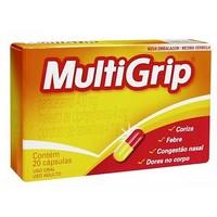 400mg + 4mg + 4mg, caixa com 20 cápsulas gelatinosas duras