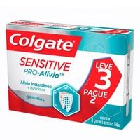 Creme Dental Colgate Sensitive Pró-Alívio - leve 3 pague 2, 50g
