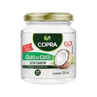 Óleo de Coco Copra sem sabor, pote, 200mL