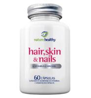 Hair, Skin & Nails Nature Healthy frasco, 1 unidade com 60 cápsulas