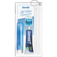 Kit de Viagem Dentil 5 itens, azul