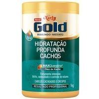 Máscara Hidratação Profunda Niely Gold Cachos - 1Kg