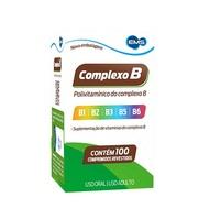 Complexo B EMS caixa com 100 comprimidos revestidos