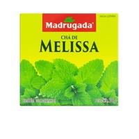 Chá Madrugada melissa, 6 caixas de 10 sachês cada