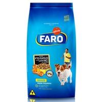 Ração para Cães Faro Adultos Raças Pequenas frango com legumes ao vapor com 1Kg
