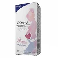 Folagest Gestantes caixa com 45 comprimidos revestidos
