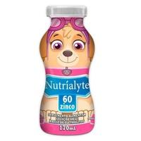 Nutríalyte Patrulha Canina 60 zinco, morango, frasco com 170mL