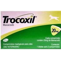 Trocoxil 20mg, blister com 2 comprimidos