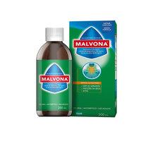 Malvona 0,2mg/mL + 60mg/mL, + 1mg/mL, caixa com 1 frasco com 200mL de solução de uso dermatológico